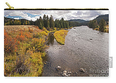 Madison River Carry-all Pouch by Cindy Murphy - NightVisions