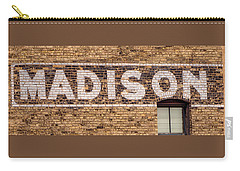 Madison Sign- Madison, Wi Carry-all Pouch
