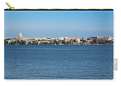 Madison Skyline From Picnic Point Carry-all Pouch