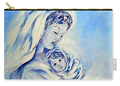 Madonna And Child By May Villeneuve Carry-all Pouch