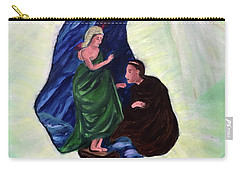 Madonna And Child With St Anthony Carry-all Pouch