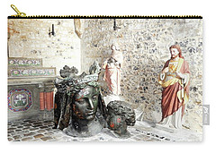 Madonna Bronze Casting Carry-all Pouch