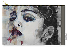 Carry-all Pouch featuring the mixed media Madonna  Like A Prayer by Paul Lovering