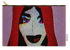 Madonna Mary Carry-all Pouch by Ann Calvo