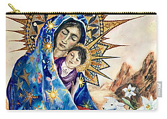 Madonna Of The Unescorted  Carry-all Pouch