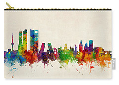 Madrid Spain Skyline Carry-all Pouch