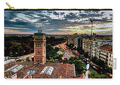 Madrid Sunset Carry-all Pouch