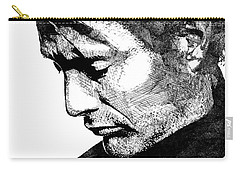 Mads Mikkelsen Carry-all Pouch by Mihaela Pater