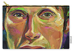 Mads Mikkelsen Carry-all Pouch by Robert Phelps