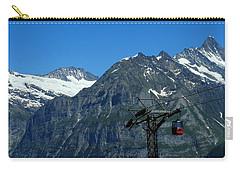 Maennlichen Gondola Calbleway, In The Background Mettenberg And Schreckhorn Carry-all Pouch
