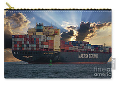 Maersk Sealand Leaving Charleston South Carolina Carry-all Pouch