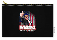Carry-all Pouch featuring the photograph Maga by Don Olea