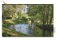 Magdalen From The River Cherwell Carry-all Pouch
