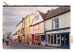 Carry-all Pouch featuring the photograph Magdalene Street Cambridge by Gill Billington