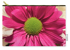 Magenta Chrysanthemum Carry-all Pouch