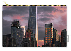 Magenta Skies Carry-all Pouch by Anthony Fields