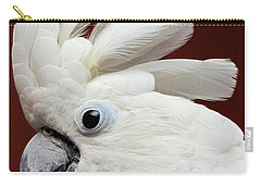Maggie The Umbrella Cockatoo Carry-all Pouch