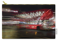 Carry-all Pouch featuring the photograph Magic Bus by Alex Lapidus