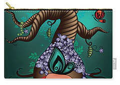 Magic Butterfly Tree Carry-all Pouch by Serena King