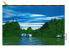 Magic Island Carry-all Pouch by Mark Blauhoefer