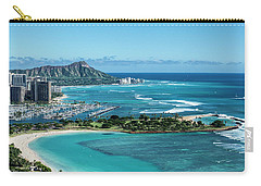 Magic Island To Diamond Head Carry-all Pouch