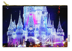 Magic Kingdom Fireworks Carry-all Pouch