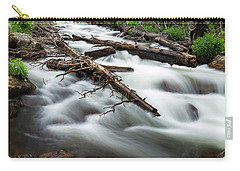 Carry-all Pouch featuring the photograph Magic Mountain Stream by James BO Insogna