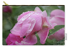 Carry-all Pouch featuring the photograph Magic On A Rainy Day by Rachel Cohen