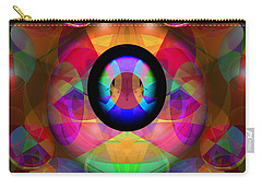 Carry-all Pouch featuring the photograph Magic Orbs by Lynda Lehmann