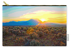 Magic Over Taos Carry-all Pouch