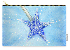 Carry-all Pouch featuring the painting Magic Wand by Cindy Garber Iverson