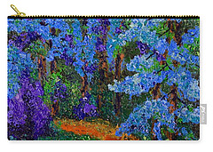 Magical Blue Forest Carry-all Pouch