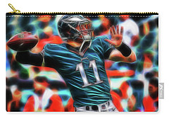 Magical Carson Wentz Carry-all Pouch by Paul Van Scott