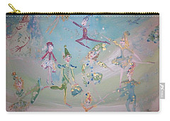 Magical Elf Dance Carry-all Pouch by Judith Desrosiers
