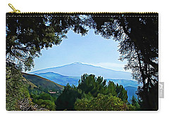 Carry-all Pouch featuring the photograph Magical Etna by Lucia Sirna