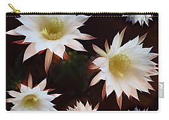 Carry-all Pouch featuring the photograph Magical Flower by Gina Dsgn