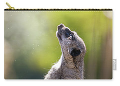 Magical Meerkat Carry-all Pouch by Jane Rix