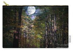 Magical Moonlit Forest Carry-all Pouch by Judy Palkimas