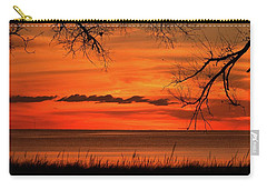 Magical Orange Sunset Sky Carry-all Pouch