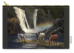 Carry-all Pouch featuring the photograph Magical Retreat by Melinda Hughes-Berland