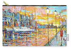 Magical Sunset Carry-all Pouch by Dmitry Spiros