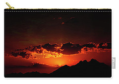 Magical Sunset In Africa 2 Carry-all Pouch