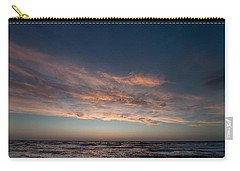 Carry-all Pouch featuring the photograph Magical Sunset by Laura Melis