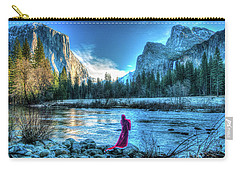 Magical Winter In Yosemite Carry-all Pouch