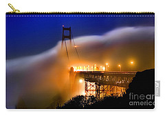 Magical Golden Gate Bridge In The Moonlight Carry-all Pouch