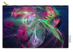 Magnetic Fields Carry-all Pouch