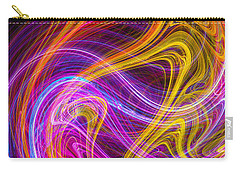 Magnetic Flames Carry-all Pouch by Mark Blauhoefer