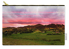 Magnificent Andes Valley Panorama Carry-all Pouch