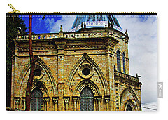 Carry-all Pouch featuring the photograph Magnificent Church Of Biblian by Al Bourassa