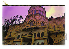 Carry-all Pouch featuring the photograph Magnificent Church Of Biblian II by Al Bourassa